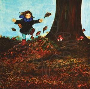 Herfst illustratie