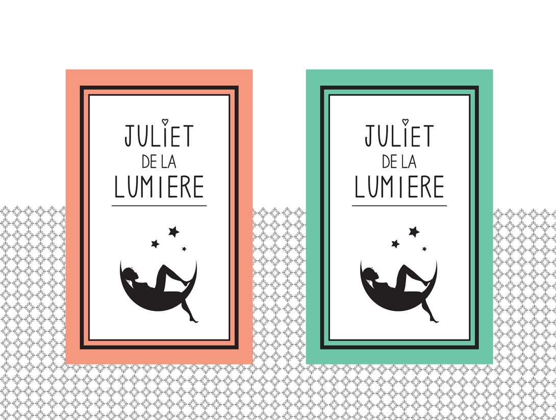 Label ontwerp Juliet de la Lumiere