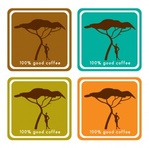 Ontwerp Fairtrade coffee labels