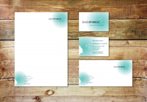 Ontwerp Innersparkle officepaper set