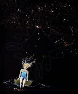Nocturne Dandelion Girl