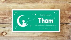thom-geboortekaartje